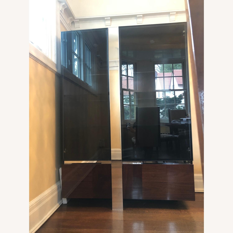 ALF Group Italian made 2 Door Curio with glass doors - image-1