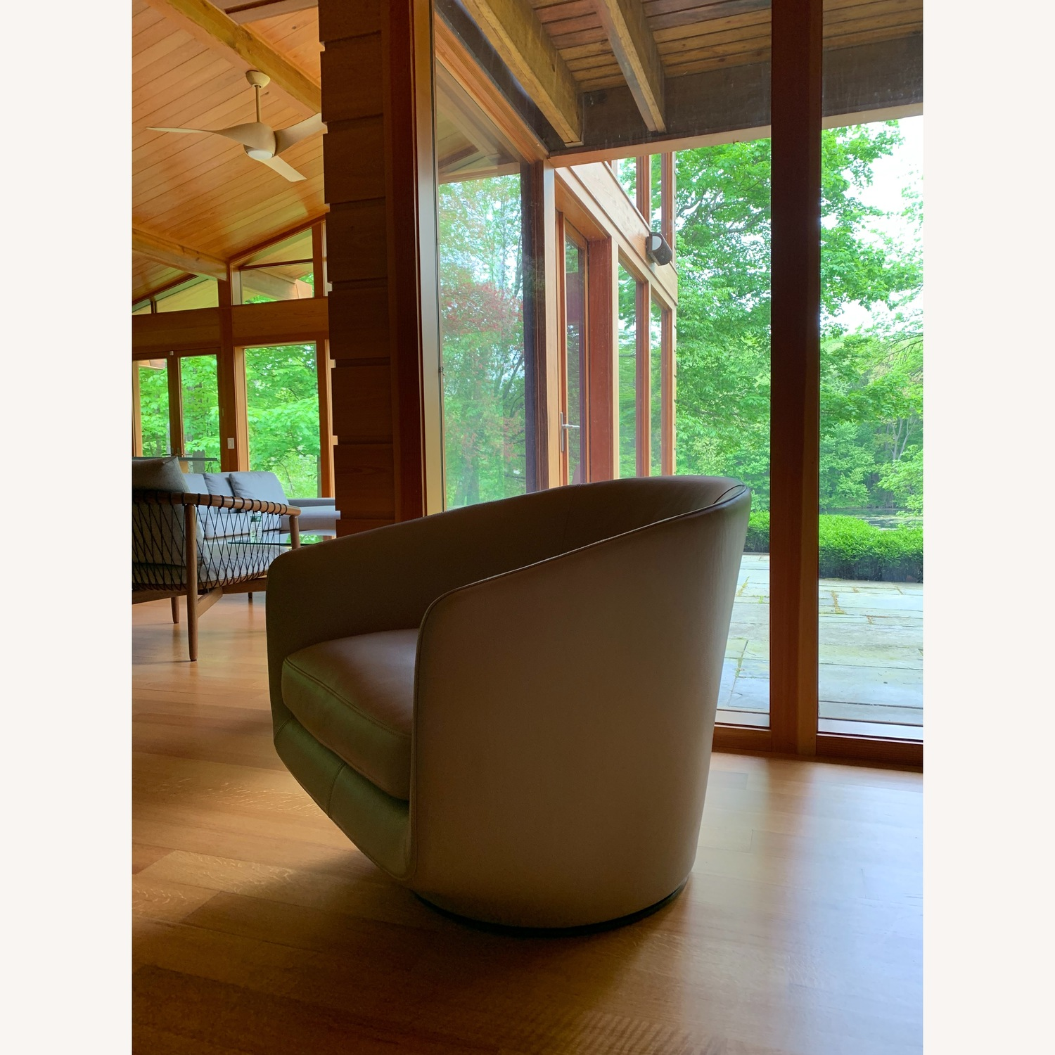 Design Within Reach Exclusive U Turn Swivel Chair - image-3