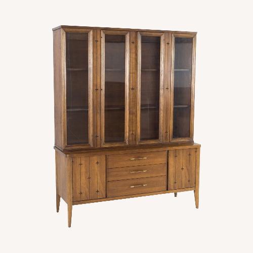 Used 1960s Broyhill Saga China Cabinet for sale on AptDeco