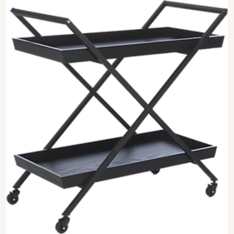 Crate & Barrel Bar Cart - image-0