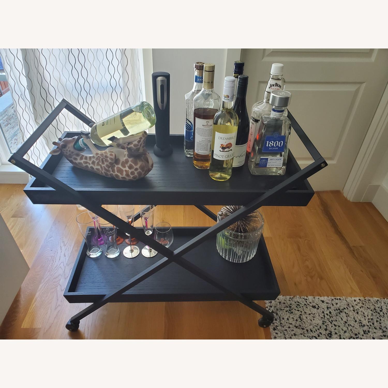 Crate & Barrel Bar Cart - image-2