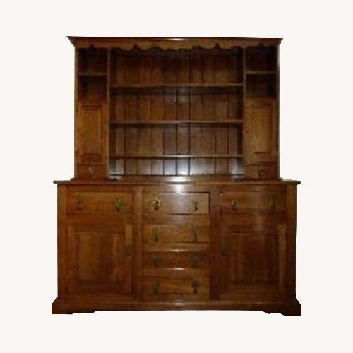 Used Stickley Brothers Solid Cherry Colonial Hutch for sale on AptDeco