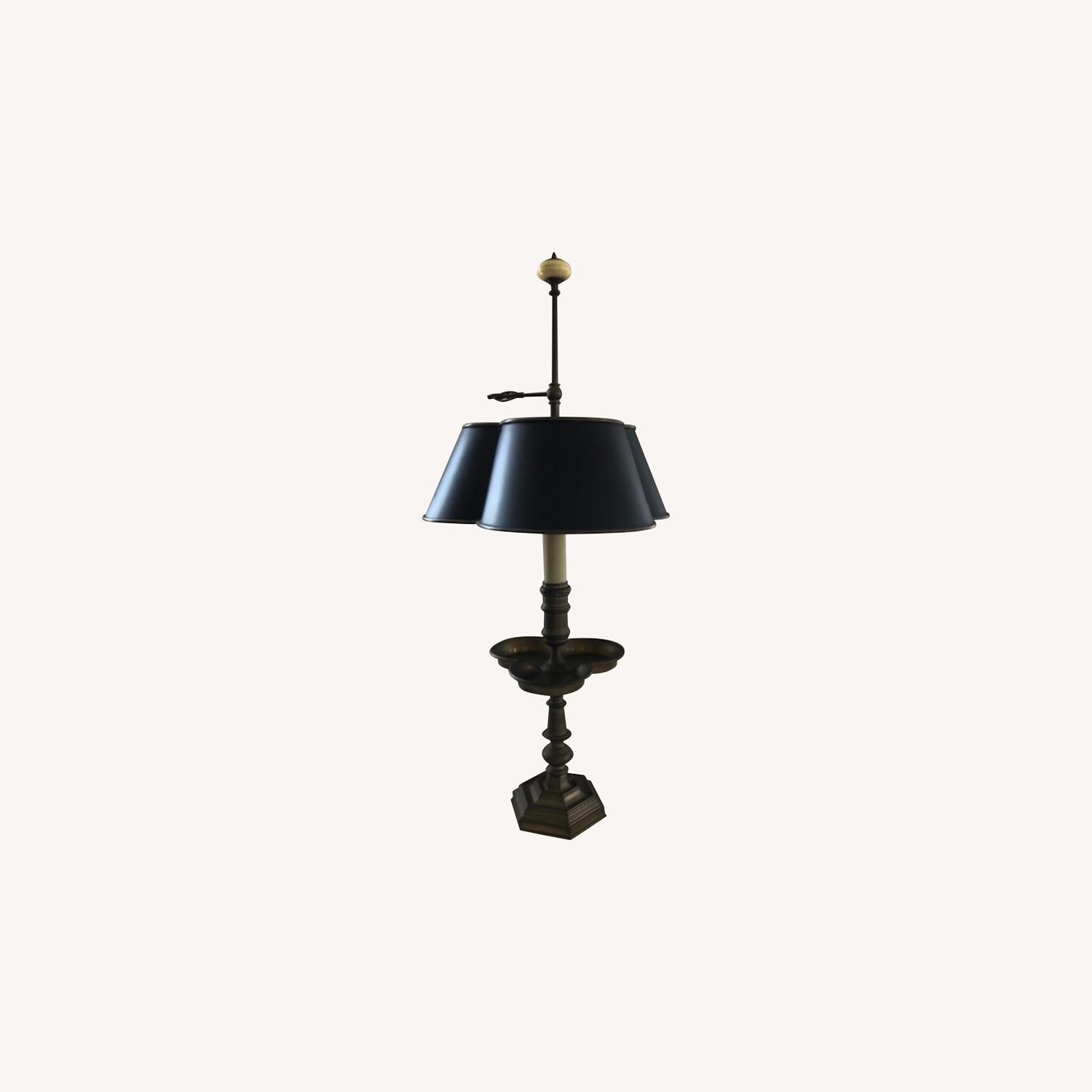 Chapman Solid Brass Table Lamp - image-0