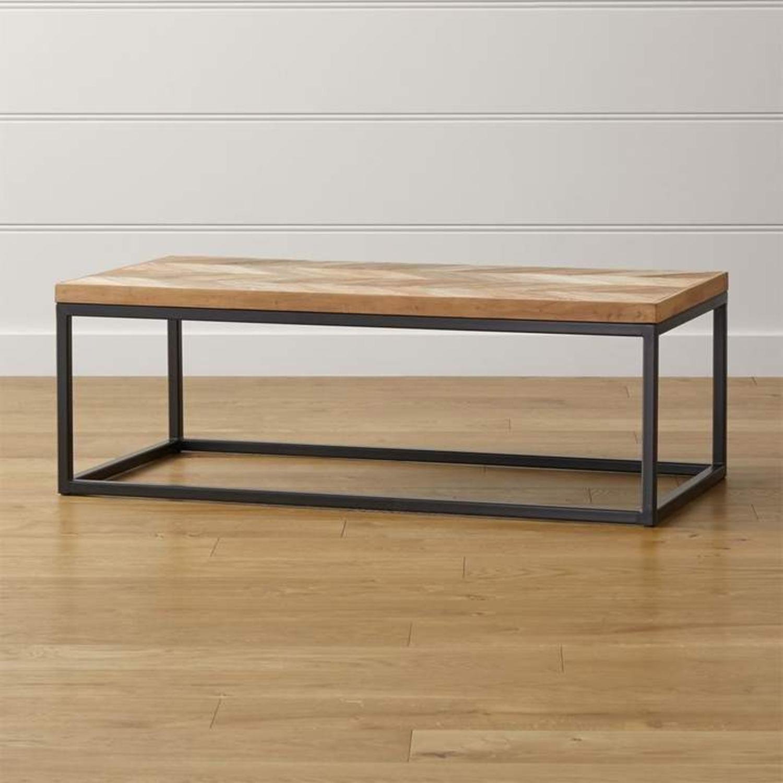 Crate & Barrel Dixon Coffee Table - image-1