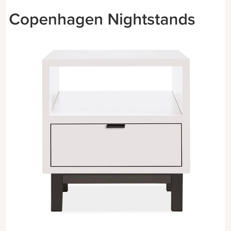 Room & Board Copenhagen One Drawer Nightstand - image-1