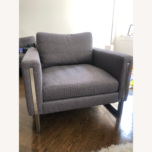 Used American Leather Savino Arm Chairs for sale on AptDeco