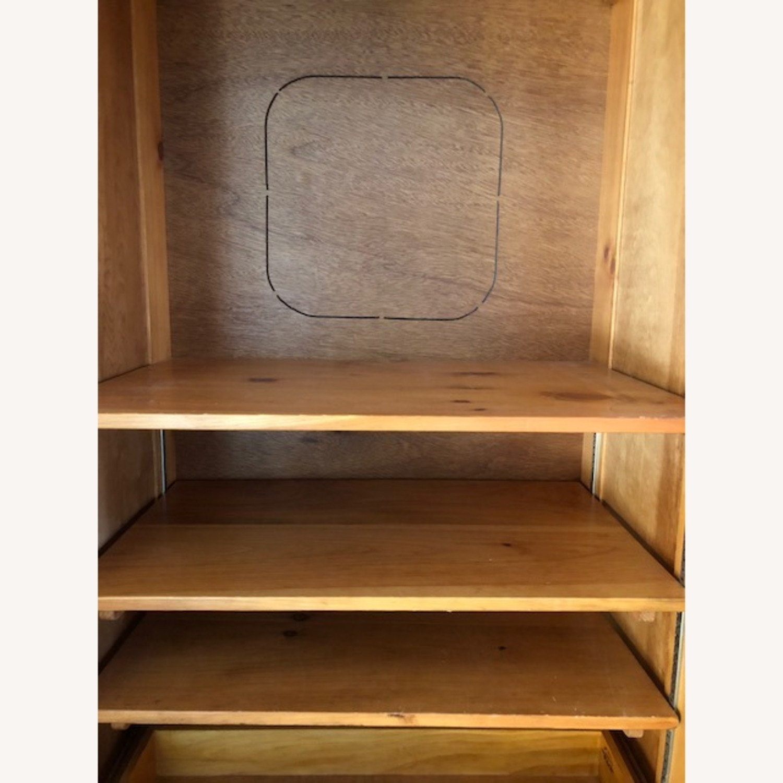 Pine Armoire/Media Cabinet - image-5