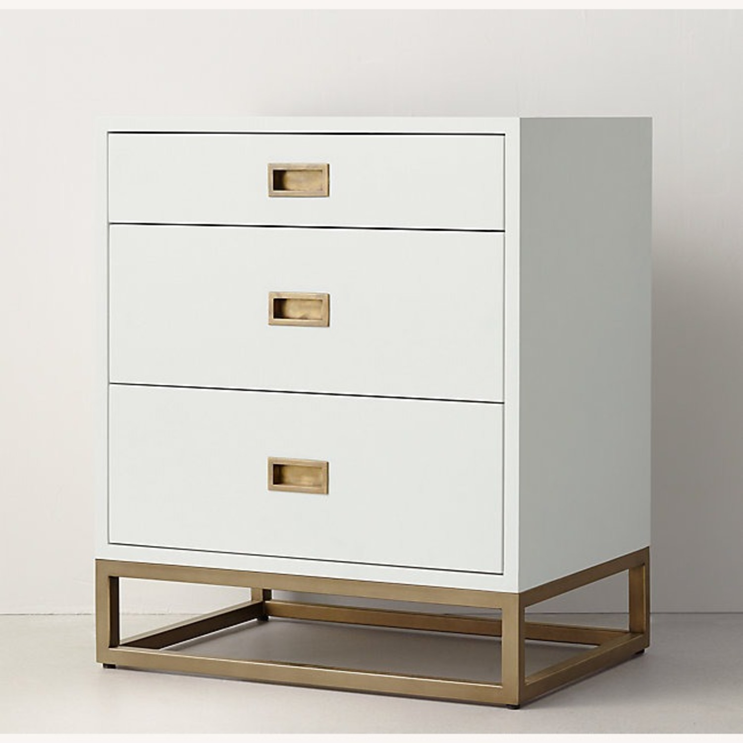 Restoration Hardware 3-Drawer Nightstand - image-1