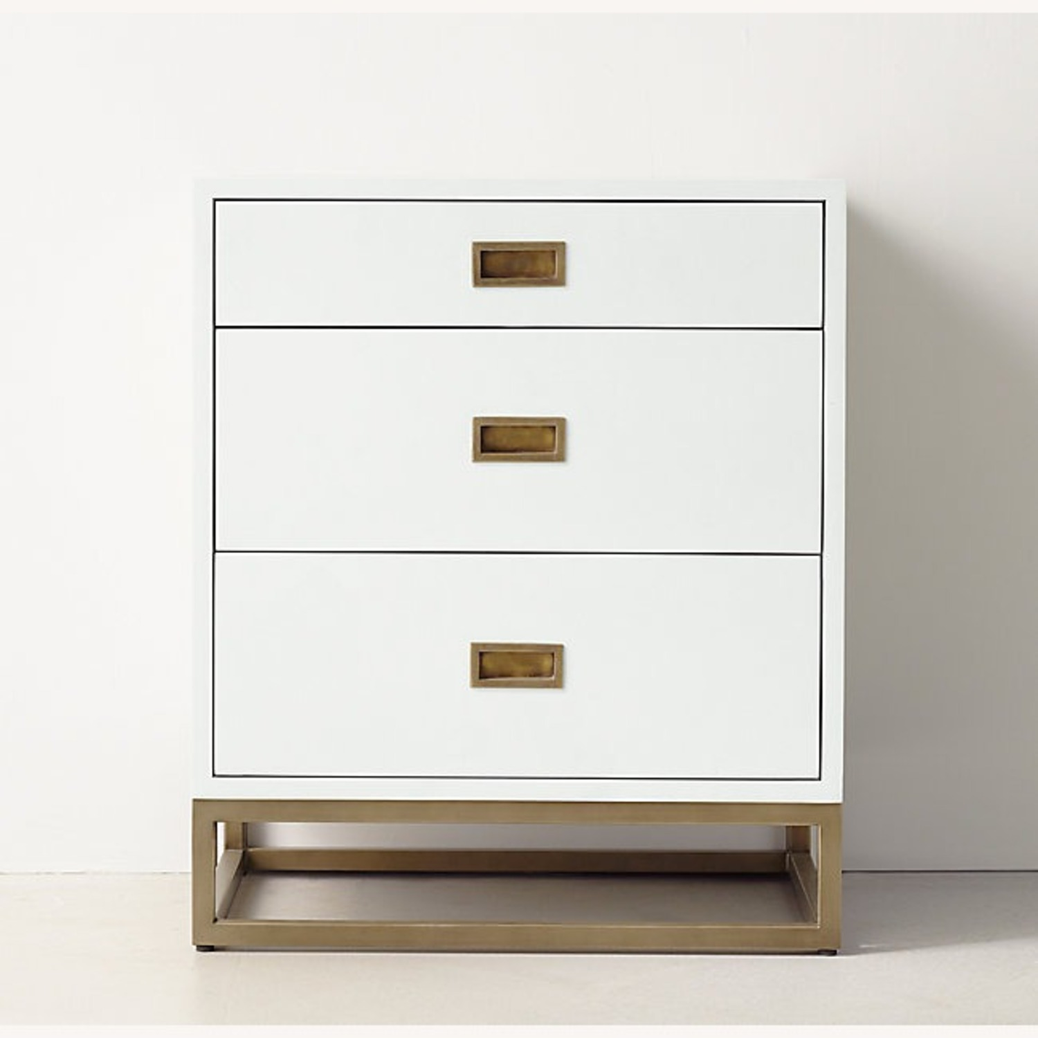 Restoration Hardware 3-Drawer Nightstand - image-2