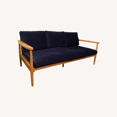 Used Urban Outfitters Minna Velvet Sofa for sale on AptDeco
