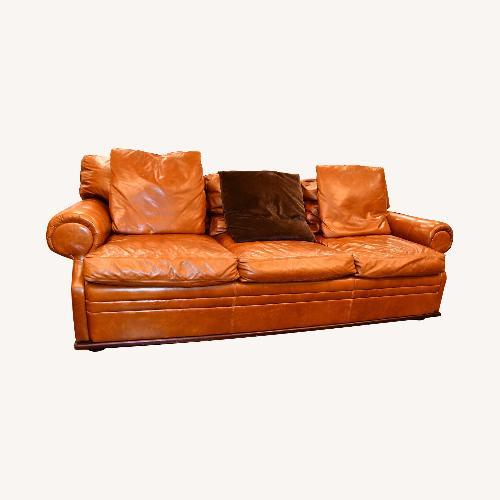Used Ralph Lauren Leather Sofa for sale on AptDeco