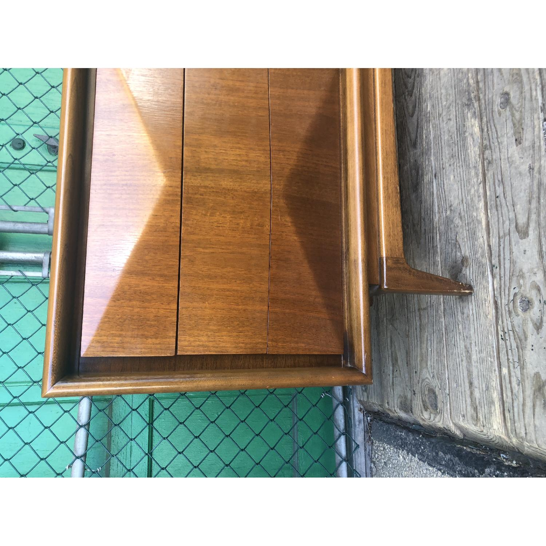 Mid Century Diamond Front Lowboy Dresser - image-8