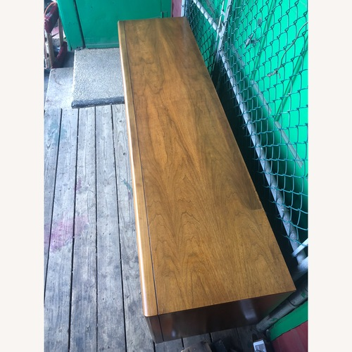 Used Mid Century Diamond Front Lowboy Dresser for sale on AptDeco