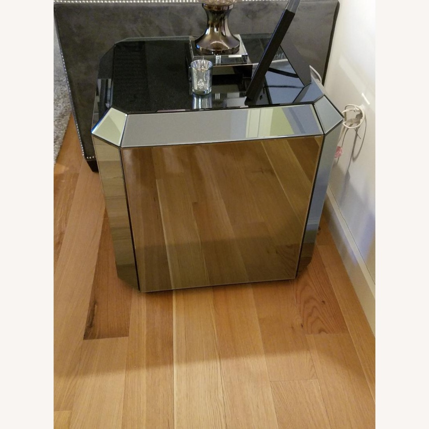 Mirrored End Tables - image-2