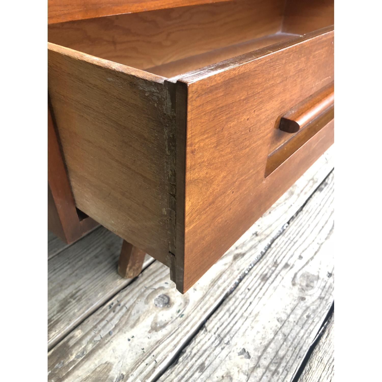 Mid Century Dresser with Burlwood & Glass - image-8