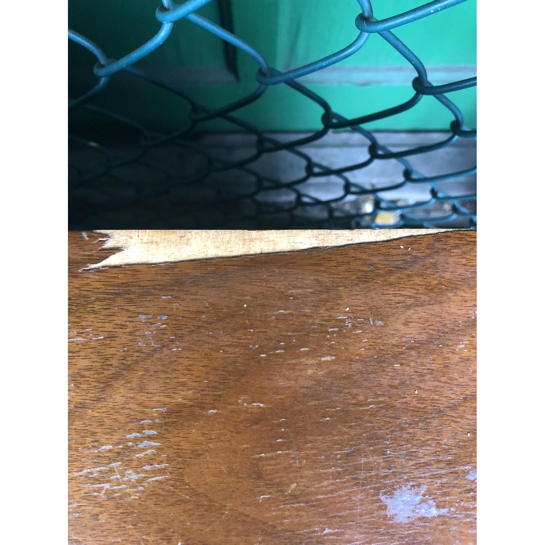 Mid Century Dresser with Burlwood & Glass - image-9