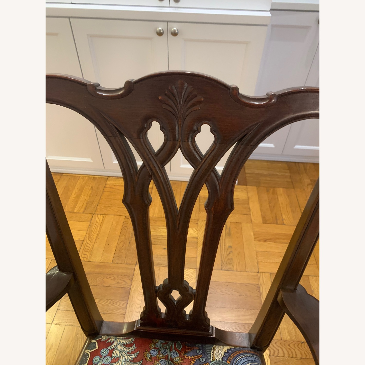 Antique Chippendale Side/Armchair - image-2