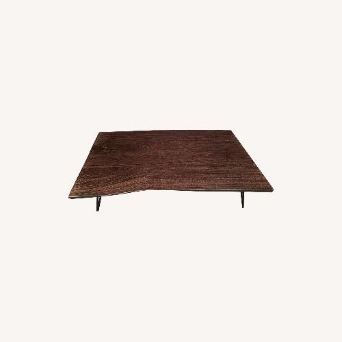 Used From The Source Live Edge Coffee Table for sale on AptDeco