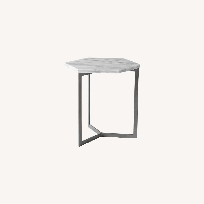 West Elm Hex Side Table - image-0