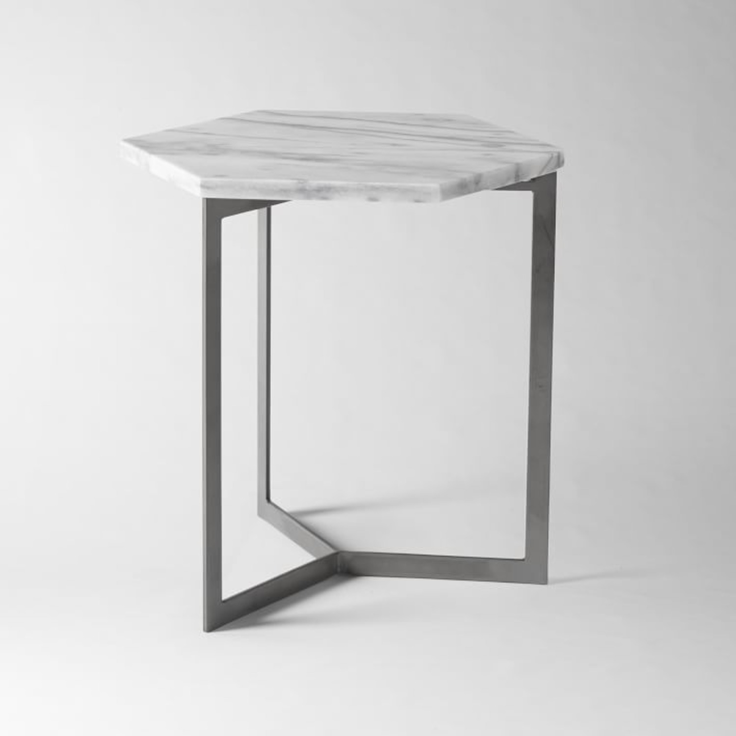 West Elm Hex Side Table - image-1
