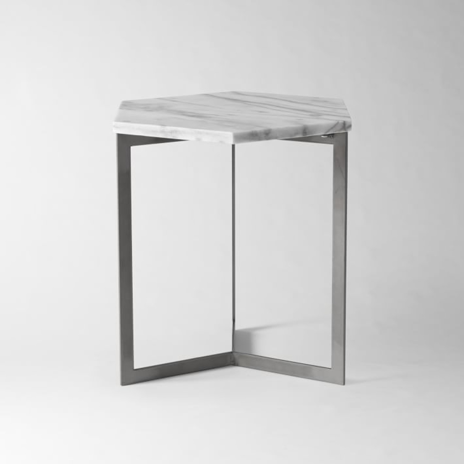 West Elm Hex Side Table - image-3
