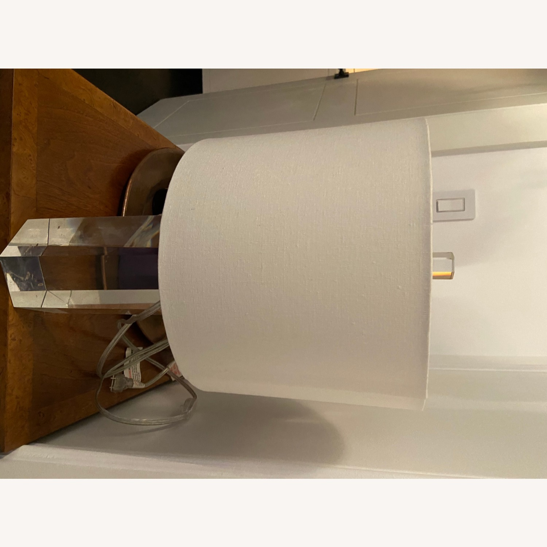 Restoration Hardware Crystal Accent Lamp - image-8