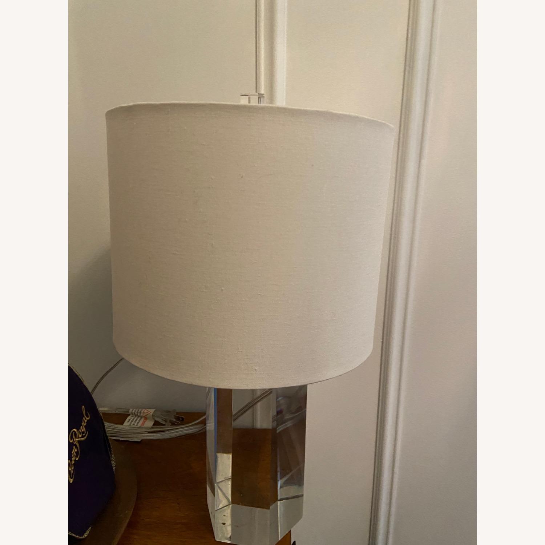 Restoration Hardware Crystal Accent Lamp - image-6