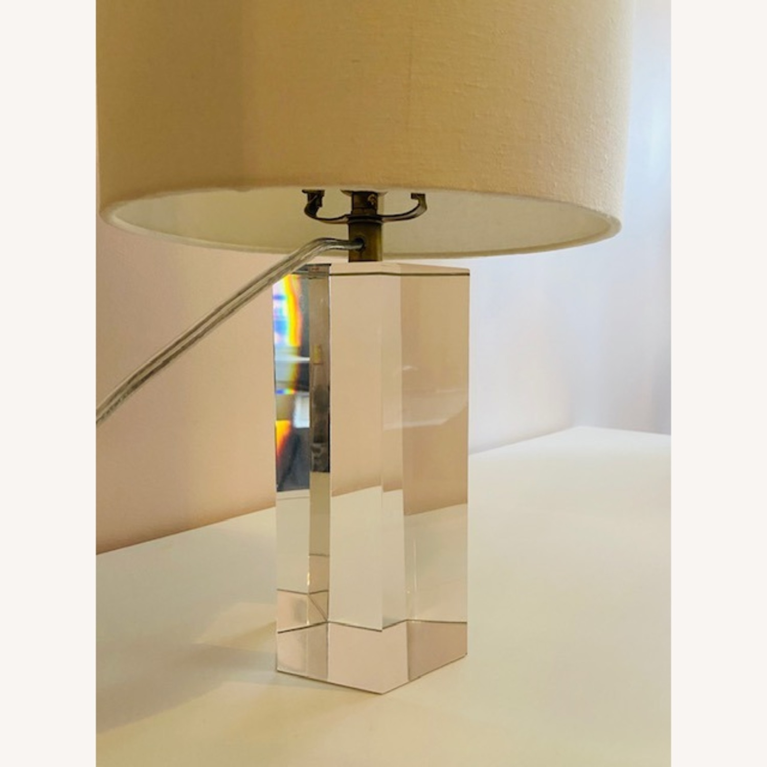 Restoration Hardware Crystal Accent Lamp - image-2