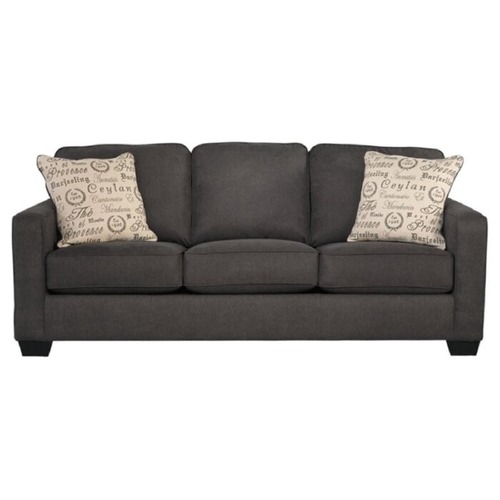 Used Andover Mills Charcoal Deerpark Square Arm Sofa for sale on AptDeco