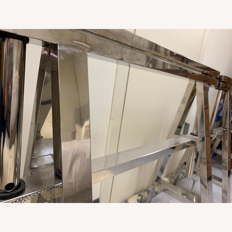 Restoration Hardware Sawhorse Desk - image-2
