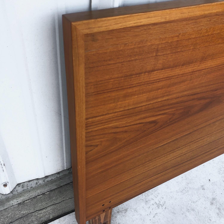 Vintage Modern Teak Headboard - image-2