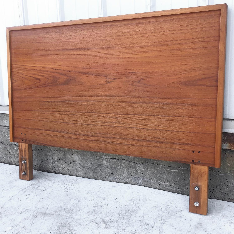 Vintage Modern Teak Headboard - image-1