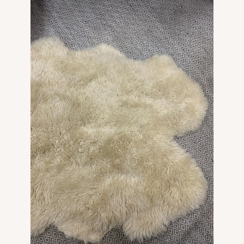 Restoration Hardware Sheepskin Pelt Rug - image-4