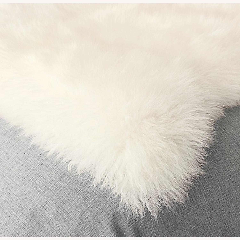Restoration Hardware Sheepskin Pelt Rug - image-2