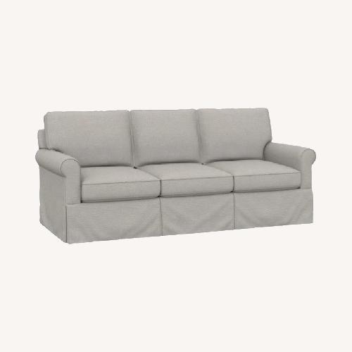 Used Bassett Off White Suffolk Sofa for sale on AptDeco