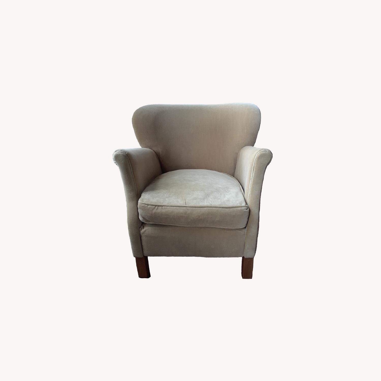 Restoration Hardware Professor's Upholstered Chair - image-0