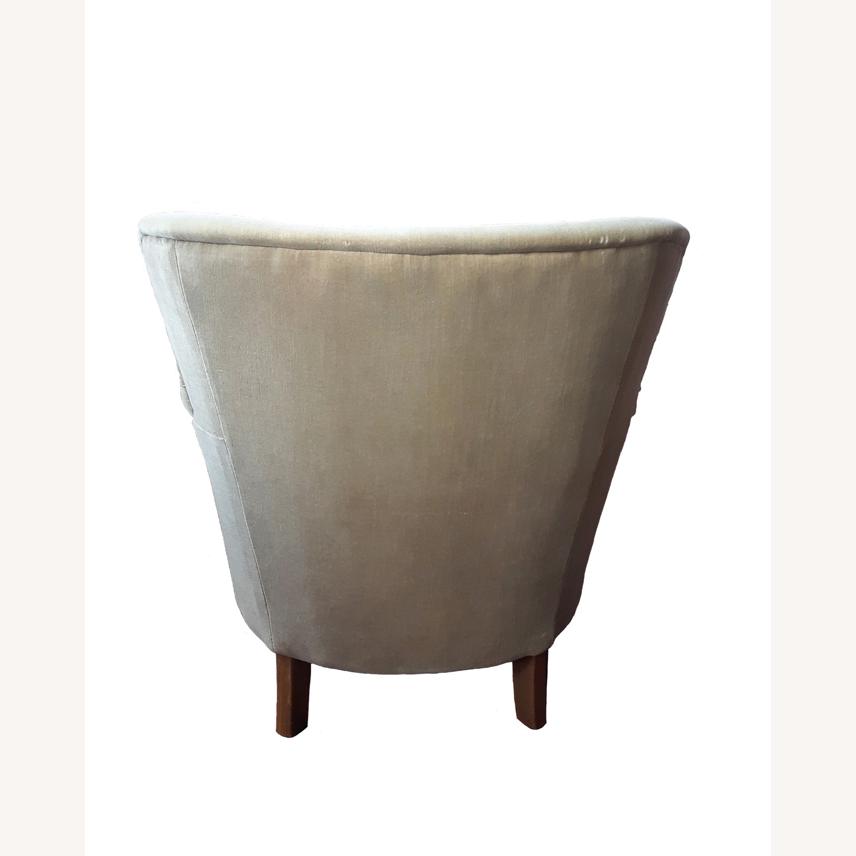 Restoration Hardware Professor's Upholstered Chair - image-12