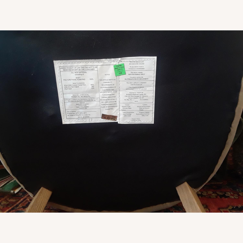 Restoration Hardware Professor's Upholstered Chair - image-3