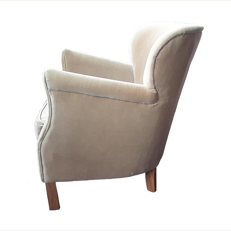Restoration Hardware Professor's Upholstered Chair - image-11