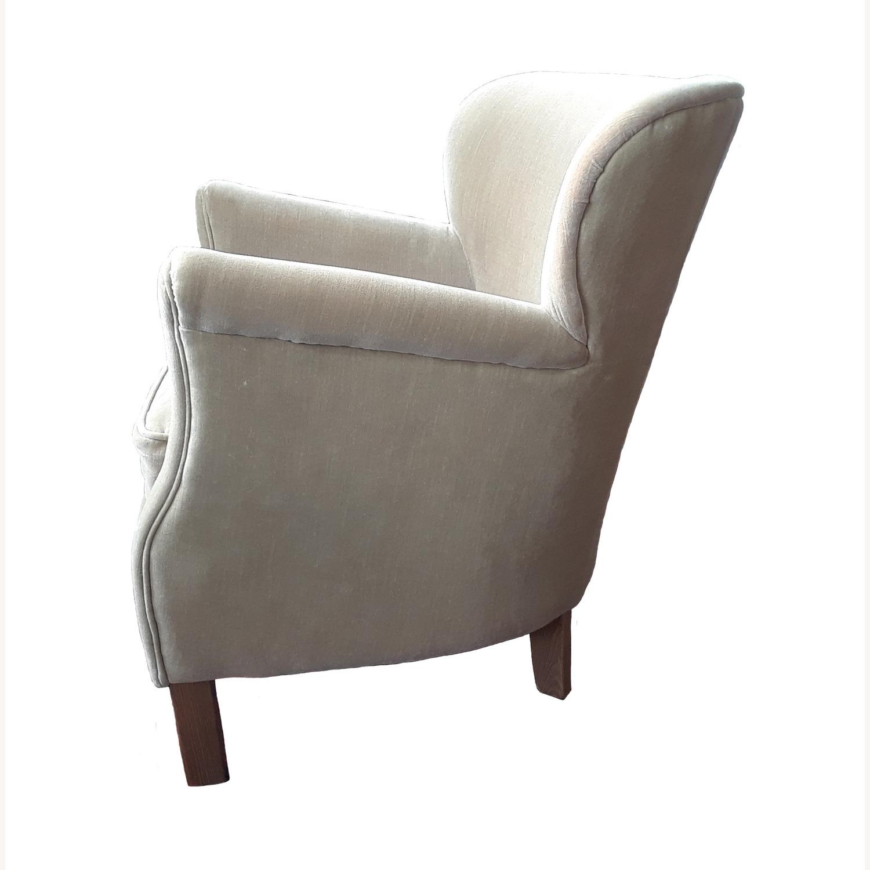 Restoration Hardware Professor's Upholstered Chair - image-7