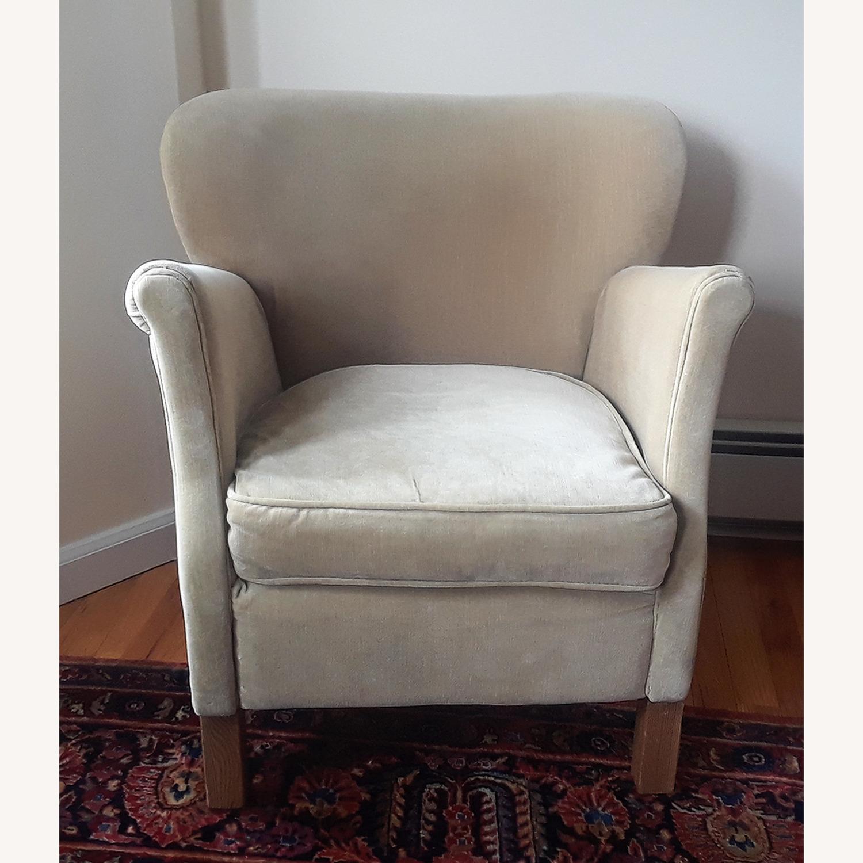 Restoration Hardware Professor's Upholstered Chair - image-4