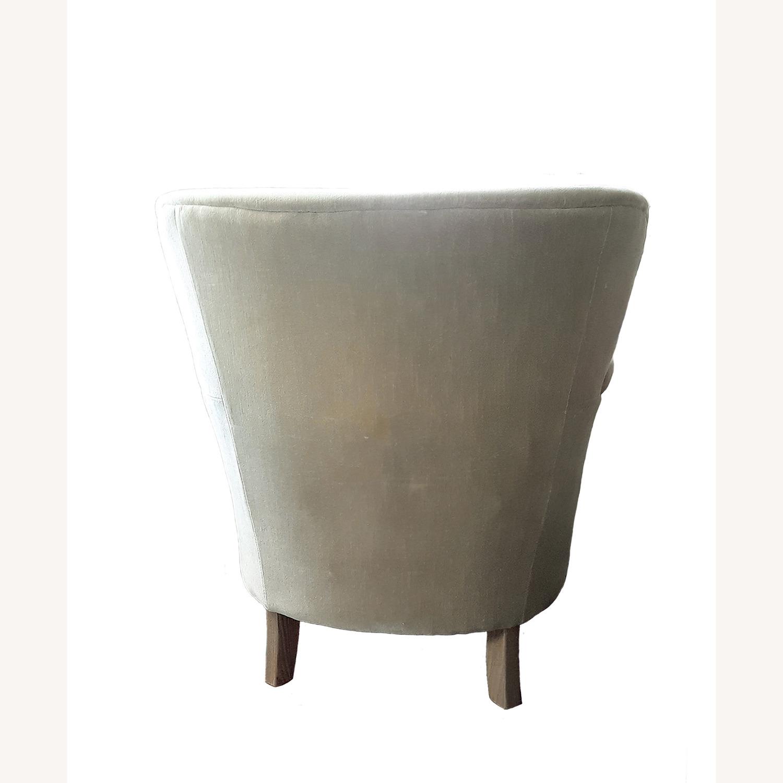 Restoration Hardware Professor's Upholstered Chair - image-8