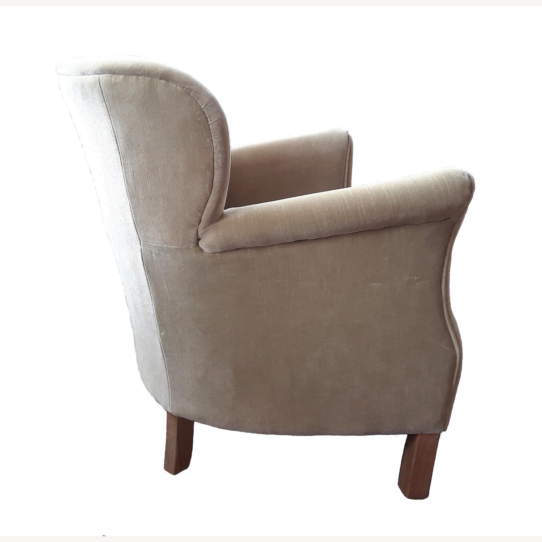 Restoration Hardware Professor's Upholstered Chair - image-5