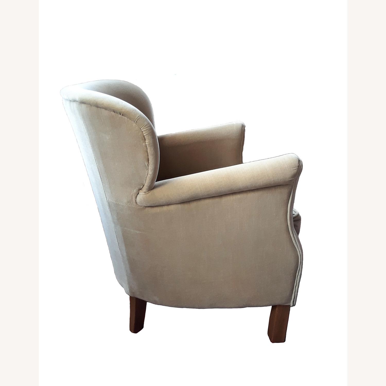 Restoration Hardware Professor's Upholstered Chair - image-2