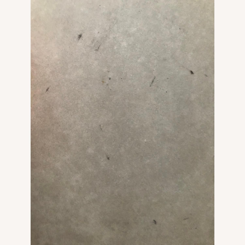 Crate & Barrel Parsons Concrete/ Brass Table - image-4