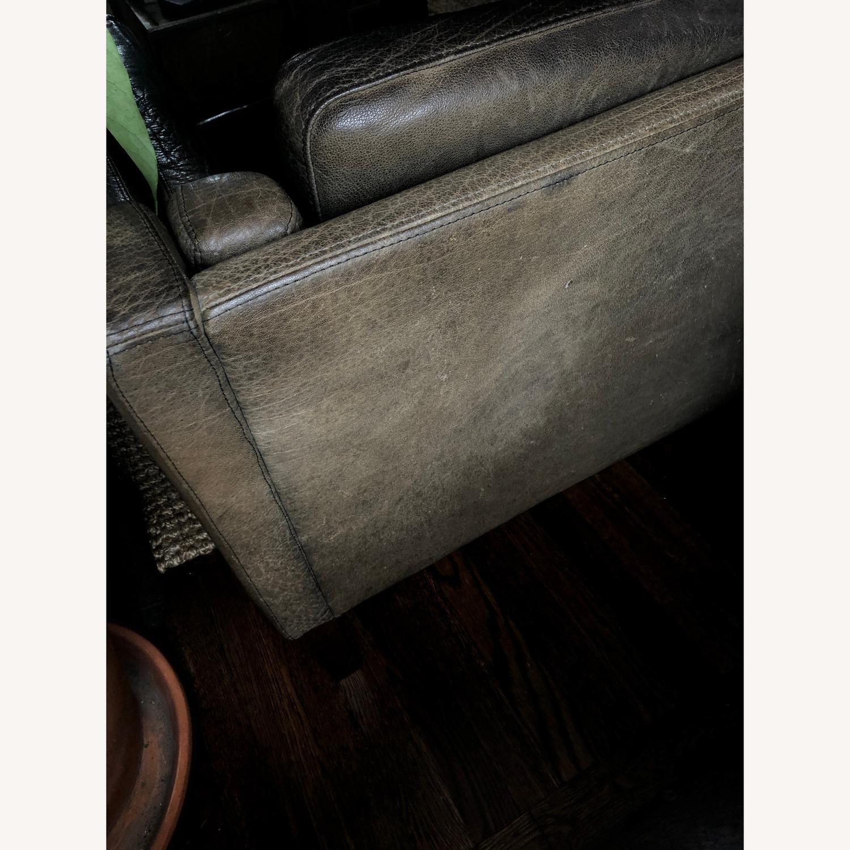 Borge Mogensen style Black Leather Sofa - image-6
