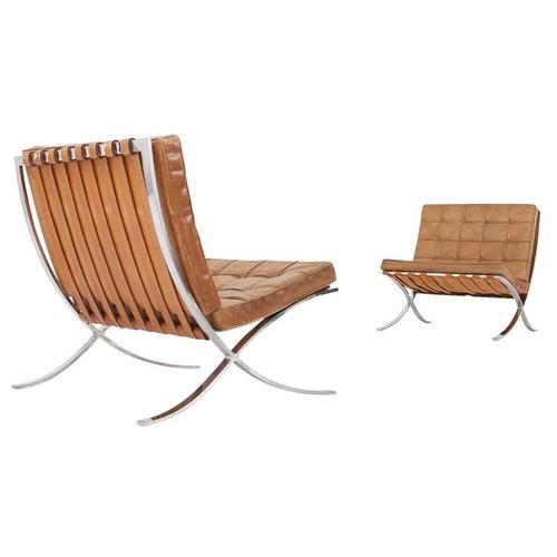 Used Knoll Barcelona Chair for sale on AptDeco