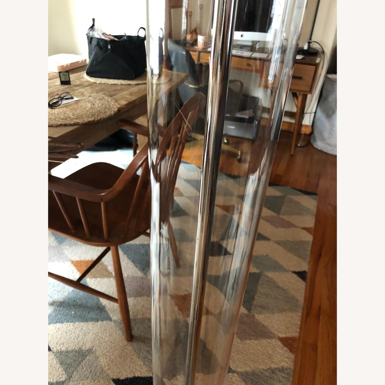 West Elm Acrylic Column Floor Lamp - image-4