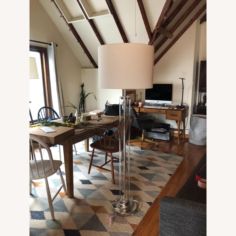 West Elm Acrylic Column Floor Lamp - image-3