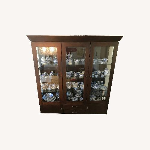 Used Ethan Allen China Cabinet for sale on AptDeco